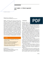 Treatment of Pediculosis Capitis - A Critical Appraisal of the Current Literature