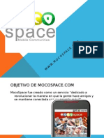 Mocospace datos e información