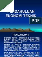 Ekonomi Teknik modul
