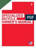 Manual de Usuario Bicicletas Specialized
