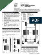 Injector Puller/Extractor de Inyectores