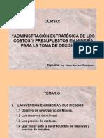 (01) La Inversión en Minería y sus Riesgos- Jaime Mercado.ppt