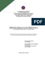 REDISEÑO DE LA RED DE VOZ Y DATOS CORPORATIVA DE LA EMPRESA MIXTA PETRONADO, S.A. FILIAL DE PDVSA PARA LAS LOCALIDADES DE MATURÍN Y CAMPO ONADO.