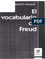 Assoun Paul-Laurent, El vocabulario de Freud.pdf