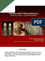ARTE INCA. Artistas Del Tahuantinsuyo Entre El Poder y La Espiritualidad Alba Choque Porras Libre