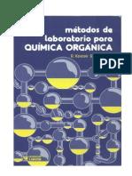 1990 Métodos de Laboratorio Para Química Orgánica Keese-müller-Toube