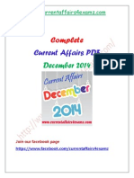 Dec 14- Complete Current Affairs