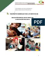 Lineamientos generales para los servicios de Educ. Especial.pdf