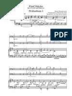 Shostakovich Prelude for 2 Cellos and Piano