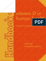 Handbook of Vitamin D in Human Health - Prevention, Treatment and Toxicity