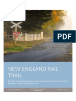 New England Rail Trail Project Proposal