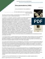 Zygmunt Bauman_ Etica Posmoderna (1993) _ PERRERAC
