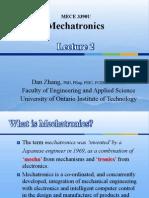 Mechatronics Lecture 2(1)