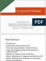 2 1 100 2010-10-00 Disk Panel Apoteker Di Industri Farmasi Utariana Setiti