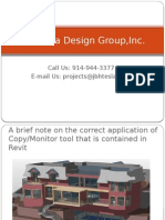 A brief note on the correct application of Copy/Monitor tool that is contained in Revit