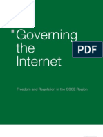 OSCE - Governing the Internet