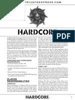 Hardcore 2014 Print