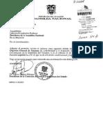 Codigo General de Procesos Informe Segundo Debate Tr. 203894