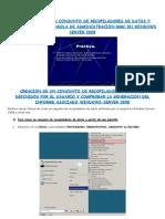 Practica Creacion Conjunto de Recopiladores de Datos y Creacion de Una Consola de Administracion Mmc en Windows Server 2008 Sebastian Rubio Gonzalez
