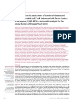 A Comparative Risk Assessment of Burden of Disease and Injury