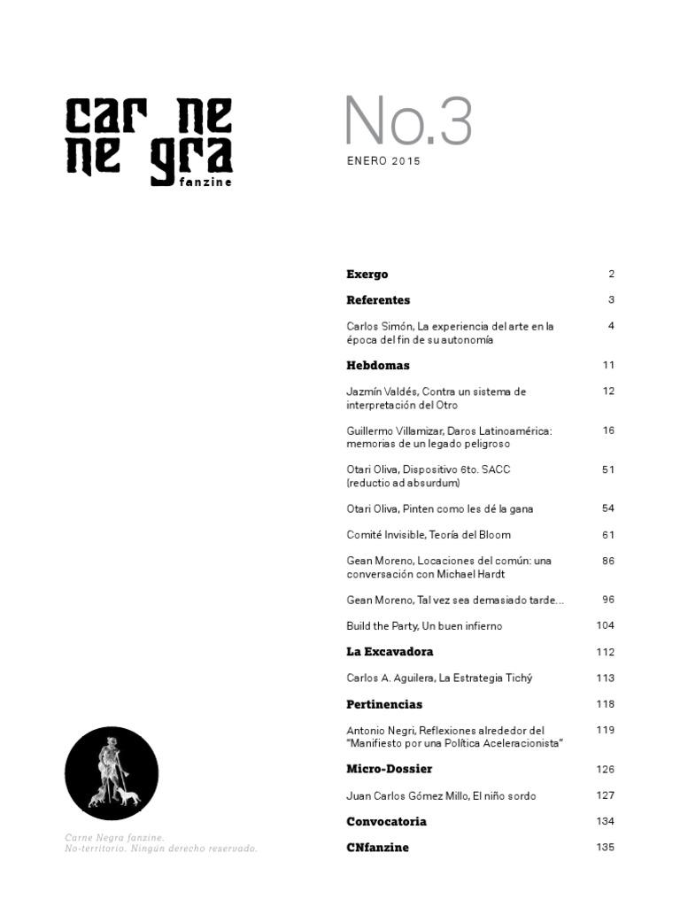 201501 Carne Negra Fanzine 3