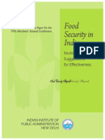 Food Security Theme Paper-2013
