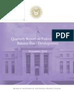Quarterly Balance Sheet Developments Report 201411