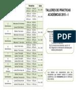 Talleres Practicas Academicas 2015-I_web