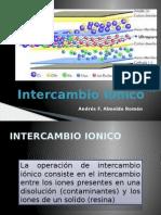 INTERCAMBIO IONICO
