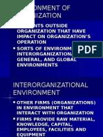 Environment of Organization