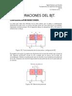 configuraciones Del Bjt