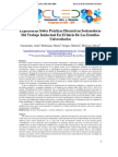 Experiencias Sobre Prácticas Discursivas Sostenedoras Del Trabajo Intelectual en El Inicio de Los Estudios Universitarios