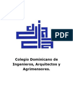 Colegio Dominicano de Ingenieros, Arquitectos y Agrimensores.