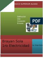 Brayan Sola Informe Final Intrumentos de Medida