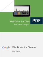 Webdriver for Chrome