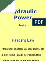 Basics of Hydraulics