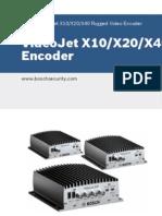 VideoJet X10/20/40 Video Encoder