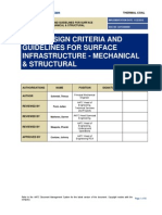 AATC design criteria and guidelines for surface Infrastructure - mechanical & structural