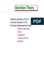 20 Aberration Theory