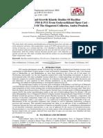 Isolation and Growth Kinetic Studies Of Bacillus Methylotrophicus P10 & P11 From Godavarikhani Open Cast – Iii Coal Mine Soil Of The Singareni Collieries, Andra Pradesh