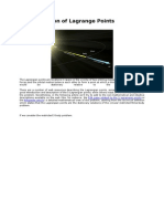 Determination of Lagrange Points