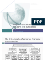 Corporate Finance and Valuation-Damodaran
