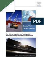 Supply Chain Decarbonization (WEF)