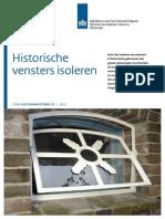 Gids 21 Cultuurhistorie Historische Vensters Isoleren 2012