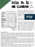 Las Cuentas FECIPUR No Cuadran