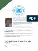 Weltregierung --- die neue UNO