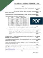 Testare Practica Excel