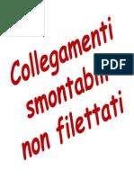 150 - Collegamenti Smontabili Non Filettati