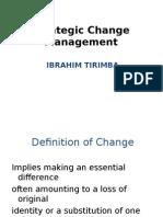Strategic Chance Management