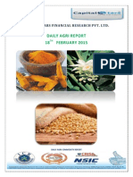 Daily Agri Report by Capital Stars-18 Feb 2015